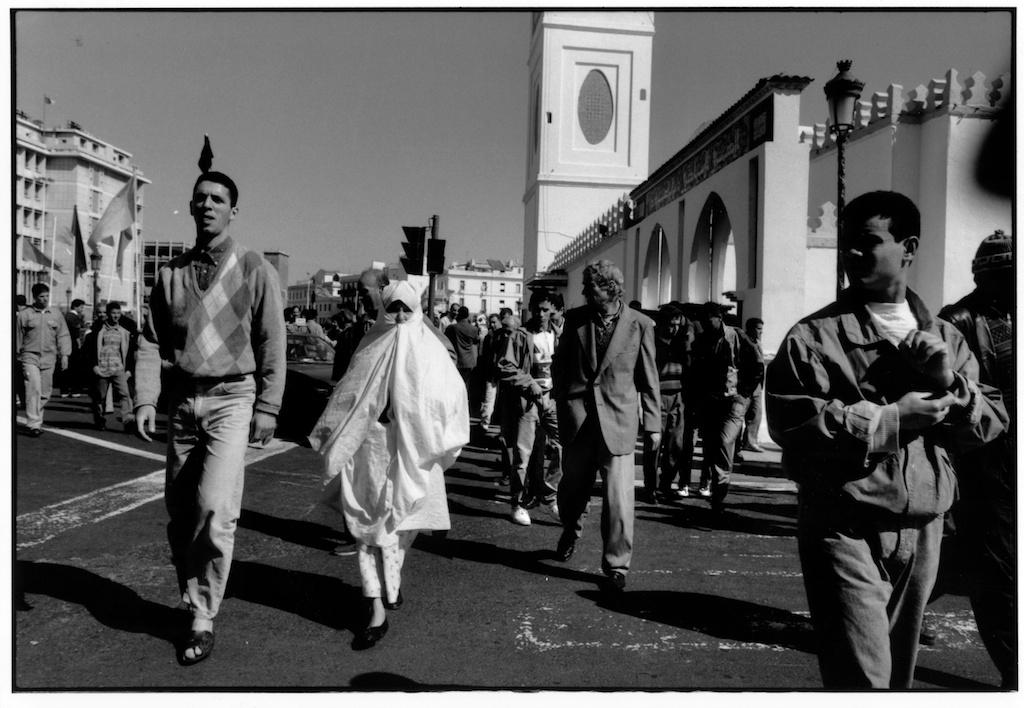 Place des Martyrs à Alger, 1992.