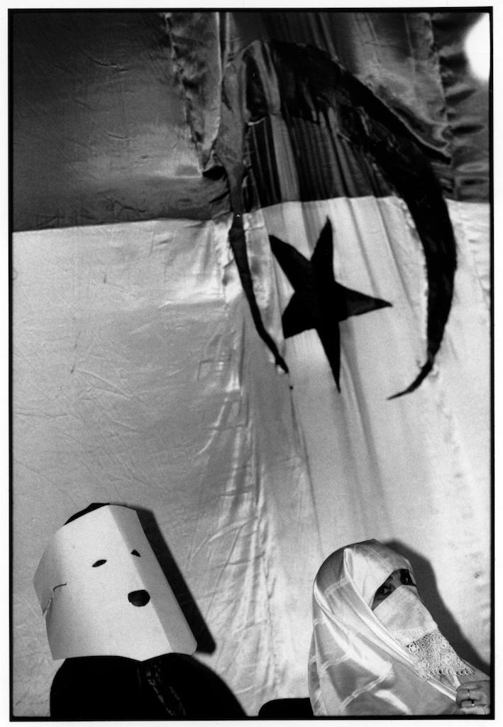 Journée internationale de la femme, salle Ibn Khaldoun, Alger, 8 mars 1995.