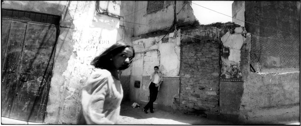 Dans la casbah, juin 1998.